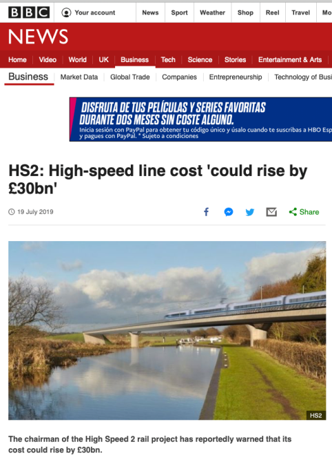 HS2 noticia BBC 21jul19